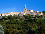 Medieval Hilltop Town, Buzet, Croatia Photographic Print by Wayne Walton
