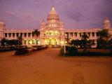 Lalitha Mahal Palace Hotel, Mysore, Karnataka, India Photographic Print by Greg Elms