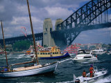 Boats in Sydney Harbour on Australia Day for Amatil Ferrython, Sydney, Australia Photographic Print by Manfred Gottschalk