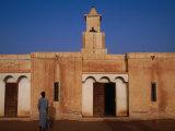 Kiffa Wood and Mud Mosque, Kiffa, Assabra, Mauritania Photographic Print by Jane Sweeney