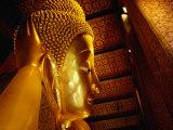 Reclining Buddha of Wat Pho, Bangkok, Thailand, Photographic Print