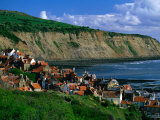 Robin Hood Bay, North York Moors National Park, England Photographic Print by Grant Dixon