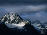 Peak of Piz Linard, Swiss National Park, Zernez, Switzerland Photographic Print by Martin Moos