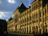 Late Evening at the Old Stock Exchange Building on Red Square, Moscow, Russia Photographic Print by Jonathan Smith