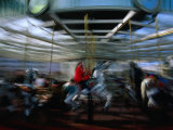 Children&#39;s Carousel at Yerba Buena, San Francisco, California, USA Photographic Print by Roberto Gerometta