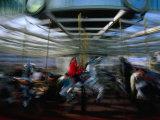 Children's Carousel at Yerba Buena, San Francisco, California, USA Photographic Print by Roberto Gerometta