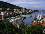Kali Fishing Harbour, Croatia Photographic Print by Wayne Walton