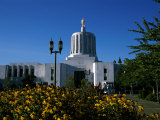 State Capitol, Salem, Oregon, USA Photographic Print