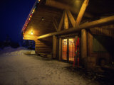 Mike Wiegele's Heli Ski Lodge, Alberta, Canada Photographic Print