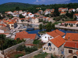 Town of Vrboska, Hvar, Croatia Photographic Print by Wayne Walton