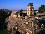 Palace (El Palacio), Palenque, Mexico Photographic Print by John Elk III