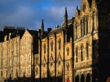 Facades of Buildings on Victoria Terrace, Edinburgh, United Kingdom Photographic Print by Jonathan Smith