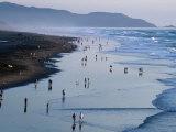 Ocean Beach at Dusk, San Francisco, California, USA Photographic Print by Roberto Gerometta