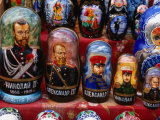 Traditional Historical Dolls, St. Petersburg, Russia Photographic Print by Wayne Walton
