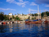 Roman Harbour Surrounded by Ancient Walls, Antalya, Antalya, Turkey Photographic Print by Diana Mayfield