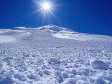 Groomed Ski Slope, St. Anton Am Arlberg, Vorarlberg, Austria Photographic Print by Christian Aslund