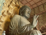 Great Buddha Vairocana (Daibutsu), Todaiji Temple, Nara, Honshu, Japan Photographic Print