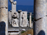 Memnius Monument, Ephesus, Turkey Photographic Print by Martin Moos