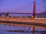 Tidal Lagoon at Crissy Field, San Francisco, California, USA Photographic Print by Roberto Gerometta