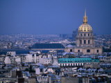 Napoleon's Tomb, in Eglise Du Dome of Hotel Des Invalides, from Eiffel Tower Paris, France Photographic Print by John Hay