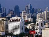 Skyline from Sukhumvit, Bangkok, Thailand Photographic Print by Richard I'Anson
