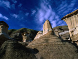 Badlands Formations Near Drumheller, Canada Photographic Print by Rick Rudnicki