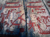 Tanumshede Bronze Age Rock Carvings, Tanumshede, Vaster-Gotaland, Sweden Photographic Print by Anders Blomqvist