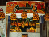 Fruit Juice Stand, Damascus, Syria Photographic Print by Wayne Walton