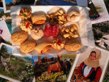 Selection of Local Biscuits, Italy Photographic Print by Wayne Walton