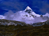 Mount Trapecio, Cordillera Huayhuash, Huascaran National Park, Ancash, Peru Photographic Print by Paul Kennedy