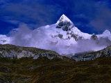 Mount Trapecio, Cordillera Huayhuash, Huascaran National Park, Ancash, Peru Photographic Print by Paul Kennedy