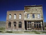 Dechambeau Hotel and I.O.O.F. Building, Bodie State Historic Park, California, USA Photographic Print