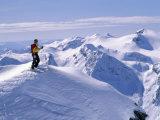 Monashee Mountains, British Columbia, Canada Reproduction photographique