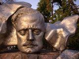 Sibelius Memorial Mask, Helsinki, Finland Photographic Print by Wayne Walton