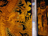Chinese Paintings on Doors of Thian Hock Keng Temple, Singapore Photographic Print by Glenn Beanland