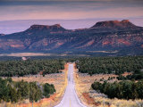 Bears Ears Buttes from Cedar Mesa, Moki Dugway Road, Manti-La Sal National Forest, USA Photographic Print by Witold Skrypczak