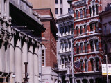 City Buildings, Providence, Rhode Island, USA Fotografie-Druck von Lou Jones