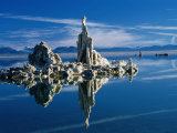 Tufa Formations in Mono Lake Tufa State Reserve, Mono Lake, California, USA Photographic Print by Mark Newman