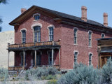 Meade Hotel, Bannack Ghost Town, Montana, USA Photographic Print