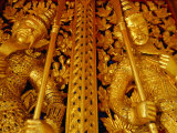 Traditional Guardians Inside Grand Palace, Bangkok,Thailand Photographic Print by Frank Carter