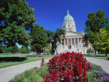 State Capitol, Kansas, USA Photographic Print