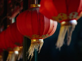 Traditional Lanterns in Corridor of Prince Gong's Residence Bejing, China Photographic Print by Phil Weymouth