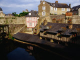 Old Wash-Houses or Vieux Lavoirs, Vannes, Brittany, France Photographic Print by Diana Mayfield