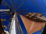 Tall Ship &quot;Eye of the Wind,&quot; Tasmania, Australia Photographic Print by John Hay