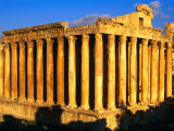 Exterior of Temple of Bacchus, Baalbek, Lebanon Photographic Print by Bethune Carmichael