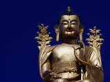 Buddha Statue in Likir Monastery, Ladakh, India Photographic Print by Richard I'Anson