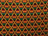 Detail of Hand-Woven Asante Ceremonial Cloth, Hohoe, Volta, Ghana Fotodruck von Ariadne Van Zandbergen