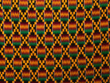 Detail of Hand-Woven Asante Ceremonial Cloth, Hohoe, Volta, Ghana Photographic Print by Ariadne Van Zandbergen