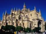 Late-Gothic 16th Century Limestone Cathedral, Segovia, Castilla-Y Leon, Spain Photographic Print by Krzysztof Dydynski