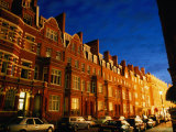 Houses on Hans Road in Knightsbridge Area, London, England Photographic Print by Stephen Saks